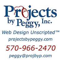 Projects by Peggy, Inc. - Web Design Unscripted